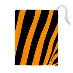 Tiger Pattern Drawstring Pouches (extra Large)