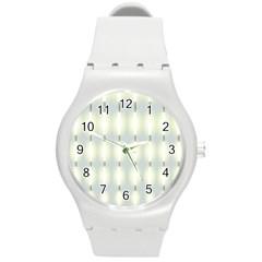 Lights Round Plastic Sport Watch (M)