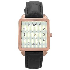 Lights Rose Gold Leather Watch
