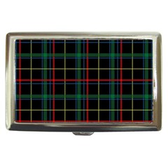 Plaid Tartan Checks Pattern Cigarette Money Cases