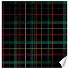 Plaid Tartan Checks Pattern Canvas 20  x 20