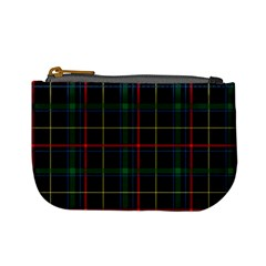 Plaid Tartan Checks Pattern Mini Coin Purses