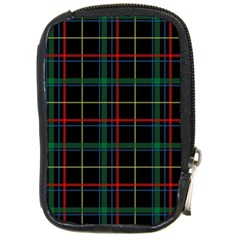 Plaid Tartan Checks Pattern Compact Camera Cases