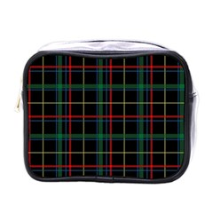 Plaid Tartan Checks Pattern Mini Toiletries Bags