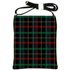 Plaid Tartan Checks Pattern Shoulder Sling Bags