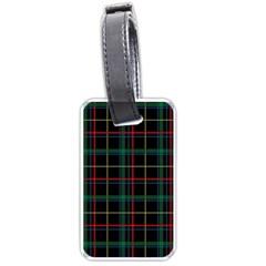 Plaid Tartan Checks Pattern Luggage Tags (Two Sides)