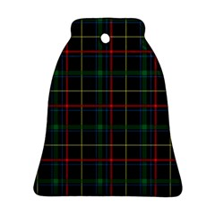 Plaid Tartan Checks Pattern Bell Ornament (Two Sides)