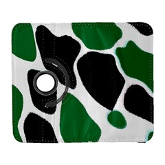 Green Black Digital Pattern Art Galaxy S3 (Flip/Folio)