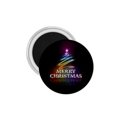Merry Christmas Abstract 1 75  Magnets