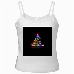 Merry Christmas Abstract Ladies Camisoles