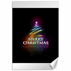 Merry Christmas Abstract Canvas 20  x 30