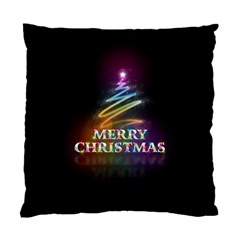 Merry Christmas Abstract Standard Cushion Case (One Side)