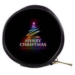 Merry Christmas Abstract Mini Makeup Bags