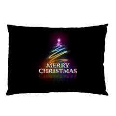 Merry Christmas Abstract Pillow Case (Two Sides)