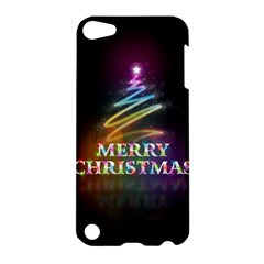Merry Christmas Abstract Apple iPod Touch 5 Hardshell Case