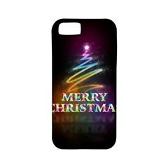 Merry Christmas Abstract Apple iPhone 5 Classic Hardshell Case (PC+Silicone)