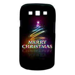 Merry Christmas Abstract Samsung Galaxy S III Classic Hardshell Case (PC+Silicone)