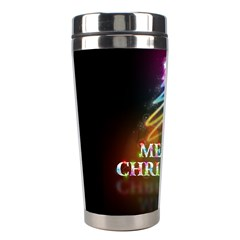 Merry Christmas Abstract Stainless Steel Travel Tumblers