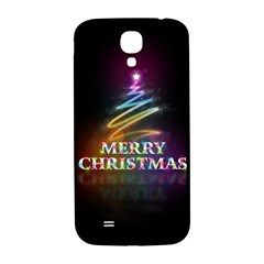 Merry Christmas Abstract Samsung Galaxy S4 I9500/I9505  Hardshell Back Case