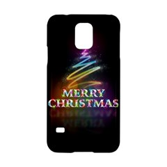 Merry Christmas Abstract Samsung Galaxy S5 Hardshell Case