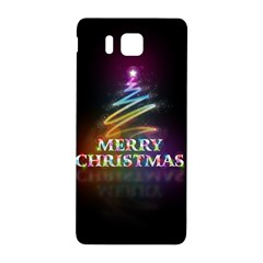 Merry Christmas Abstract Samsung Galaxy Alpha Hardshell Back Case