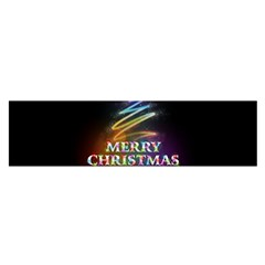 Merry Christmas Abstract Satin Scarf (Oblong)