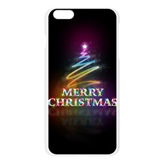 Merry Christmas Abstract Apple Seamless iPhone 6 Plus/6S Plus Case (Transparent)