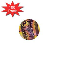 Ethnic Tribal Pattern 1  Mini Buttons (100 pack)