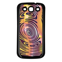 Ethnic Tribal Pattern Samsung Galaxy S3 Back Case (Black)