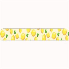 Pattern Template Lemons Yellow Small Bar Mats