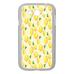 Pattern Template Lemons Yellow Samsung Galaxy Grand DUOS I9082 Case (White)