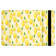 Pattern Template Lemons Yellow Ipad Air Flip