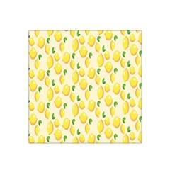 Pattern Template Lemons Yellow Satin Bandana Scarf