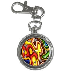 Pattern Background Structure Key Chain Watches
