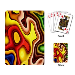 Pattern Background Structure Playing Card