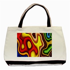 Pattern Background Structure Basic Tote Bag (two Sides)