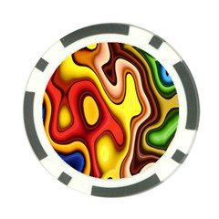 Pattern Background Structure Poker Chip Card Guard