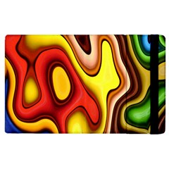 Pattern Background Structure Apple iPad 2 Flip Case