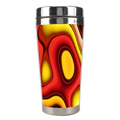 Pattern Background Structure Stainless Steel Travel Tumblers