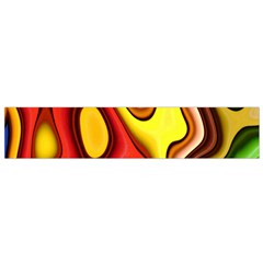Pattern Background Structure Flano Scarf (Small)