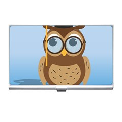 Read Owl Book Owl Glasses Read Business Card Holders