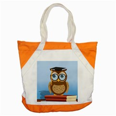 Read Owl Book Owl Glasses Read Accent Tote Bag