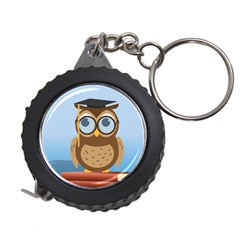 Read Owl Book Owl Glasses Read Measuring Tapes