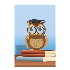 Read Owl Book Owl Glasses Read Shower Curtain 48  x 72  (Small)