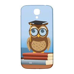 Read Owl Book Owl Glasses Read Samsung Galaxy S4 I9500/I9505  Hardshell Back Case