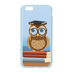 Read Owl Book Owl Glasses Read Apple Seamless iPhone 6/6S Case (Color)