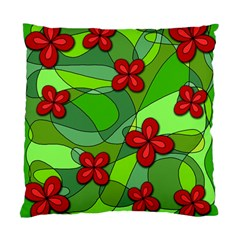 Flowers Standard Cushion Case (One Side)