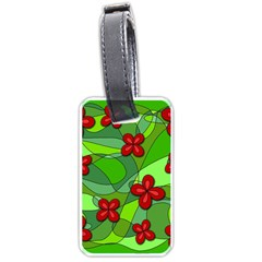 Flowers Luggage Tags (One Side)