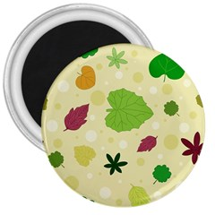 Leaves Pattern 3  Magnets