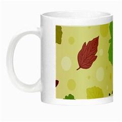 Leaves Pattern Night Luminous Mugs